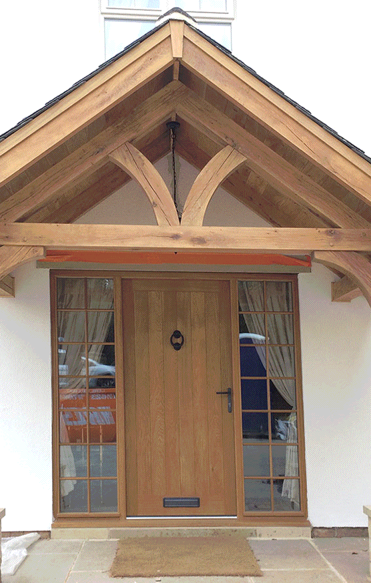 Bespoke Wooden Porches & Canopies